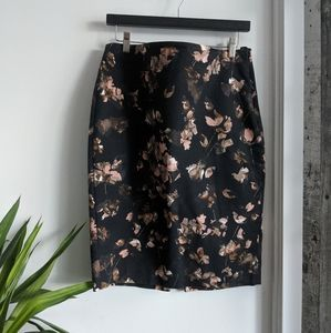 RW&CO floral pencil skirt